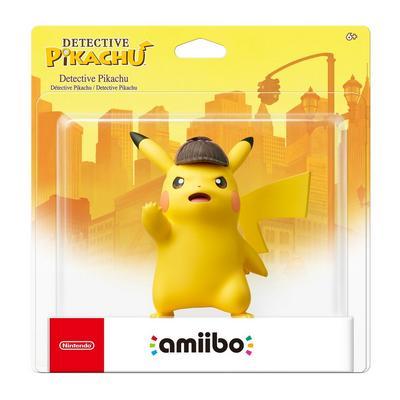 Detective Pikachu amiibo Figure