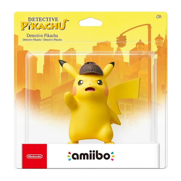 Pokemon Detective Pikachu amiibo
