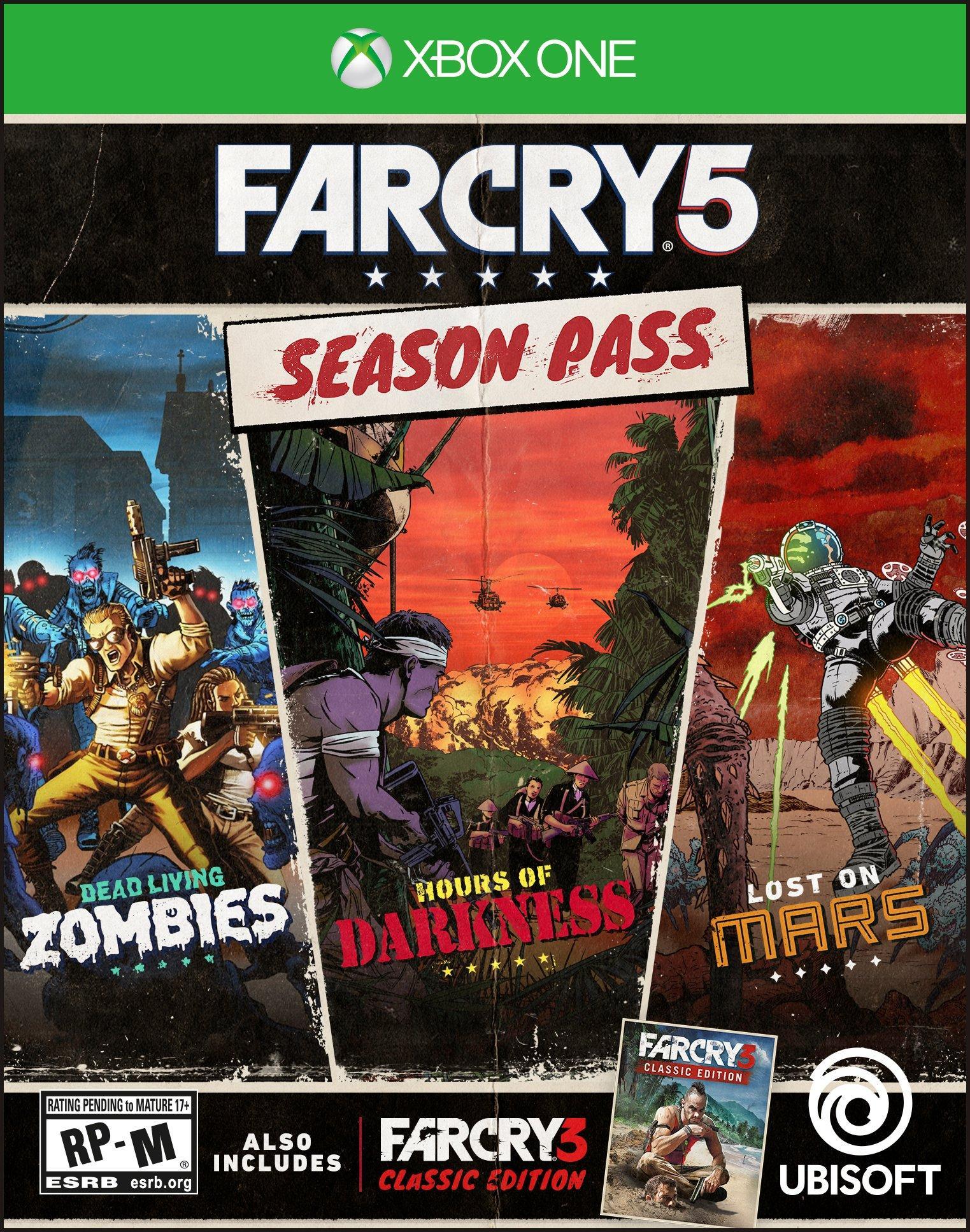 Far Cry 5 Season Pass Xbox One Gamestop