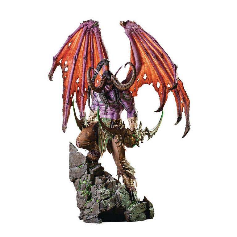 World of Warcraft Illidan 24 inch Statue