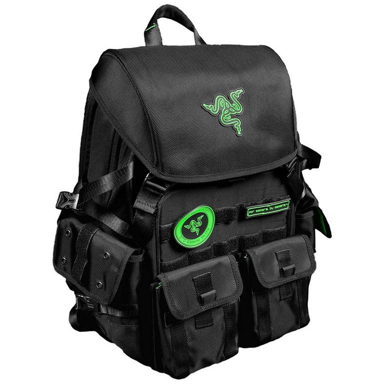Razer Tactical Pro Backpack with Diverse Multipurpose Compartments