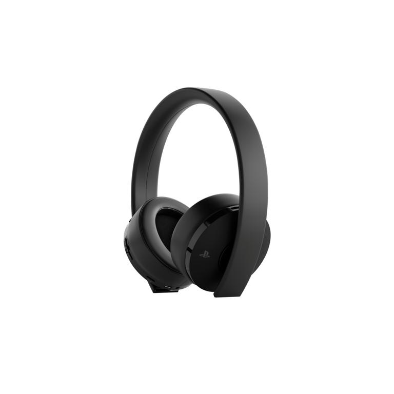 PlayStation New Gold Black Wireless Headset