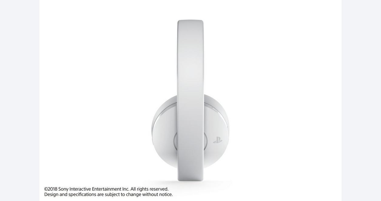 PlayStation 4 New Gold Wireless Headset Black