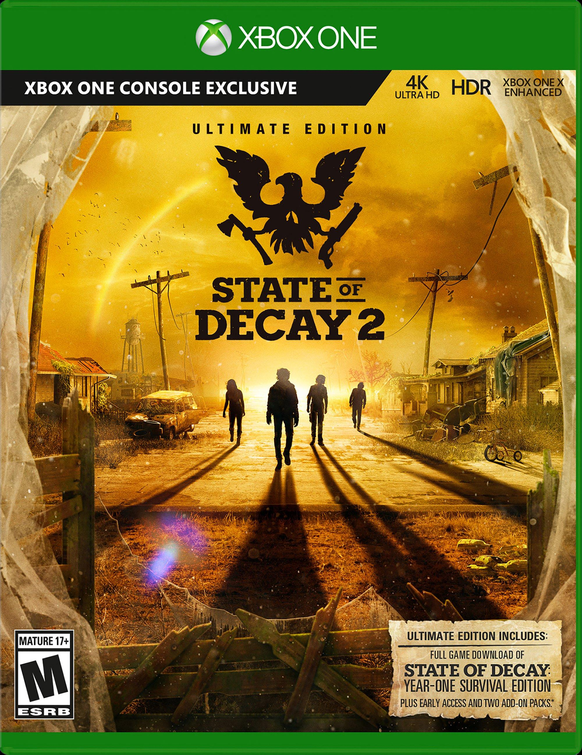 State of Decay 2 Ultimate Edition | Xbox One | GameStop