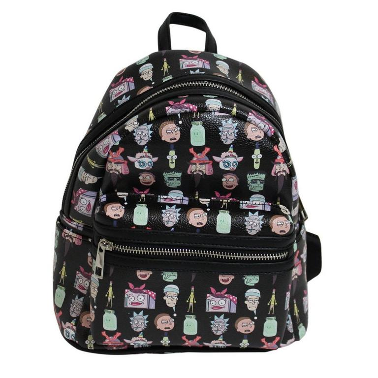 Rick And Morty Parasite Face Mini Backpack