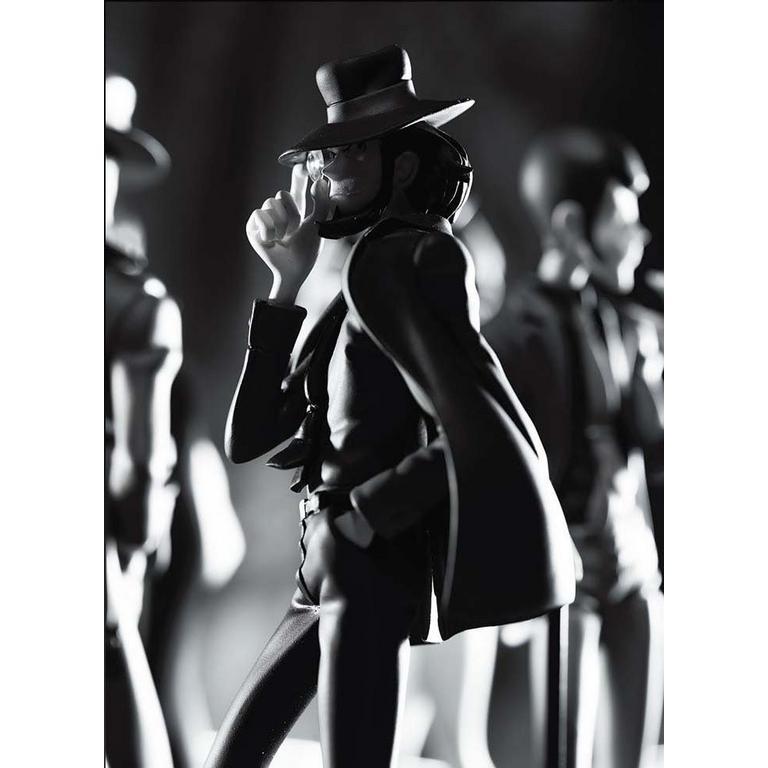 Lupin The Third Part 5 Creator x Creator Figure - Daisuke Jigen (Black & White)