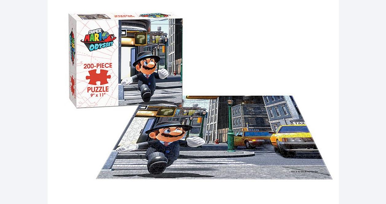 Super Mario Odyssey: Metro Kingdom 200 Piece Puzzle - Only at GameStop