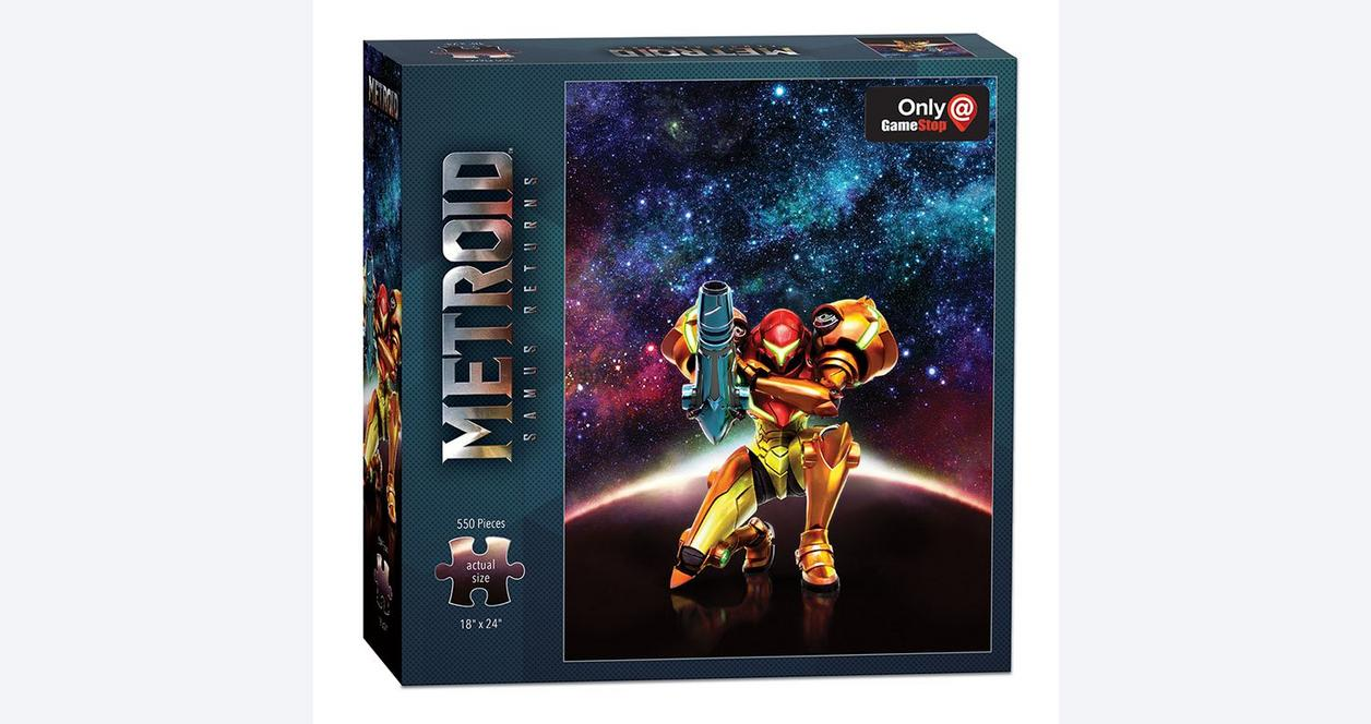 Metroid: Samus Returns Puzzle Only at GameStop