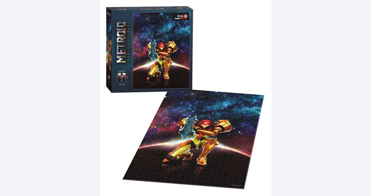 Metroid: Samus Returns 550 Piece Puzzle - Only at GameStop