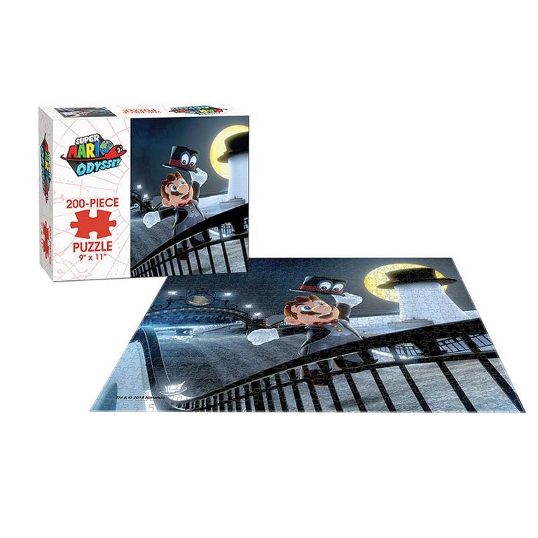 Super Mario Odyssey: Cap Kingdom 200 Piece Puzzle - Only at GameStop