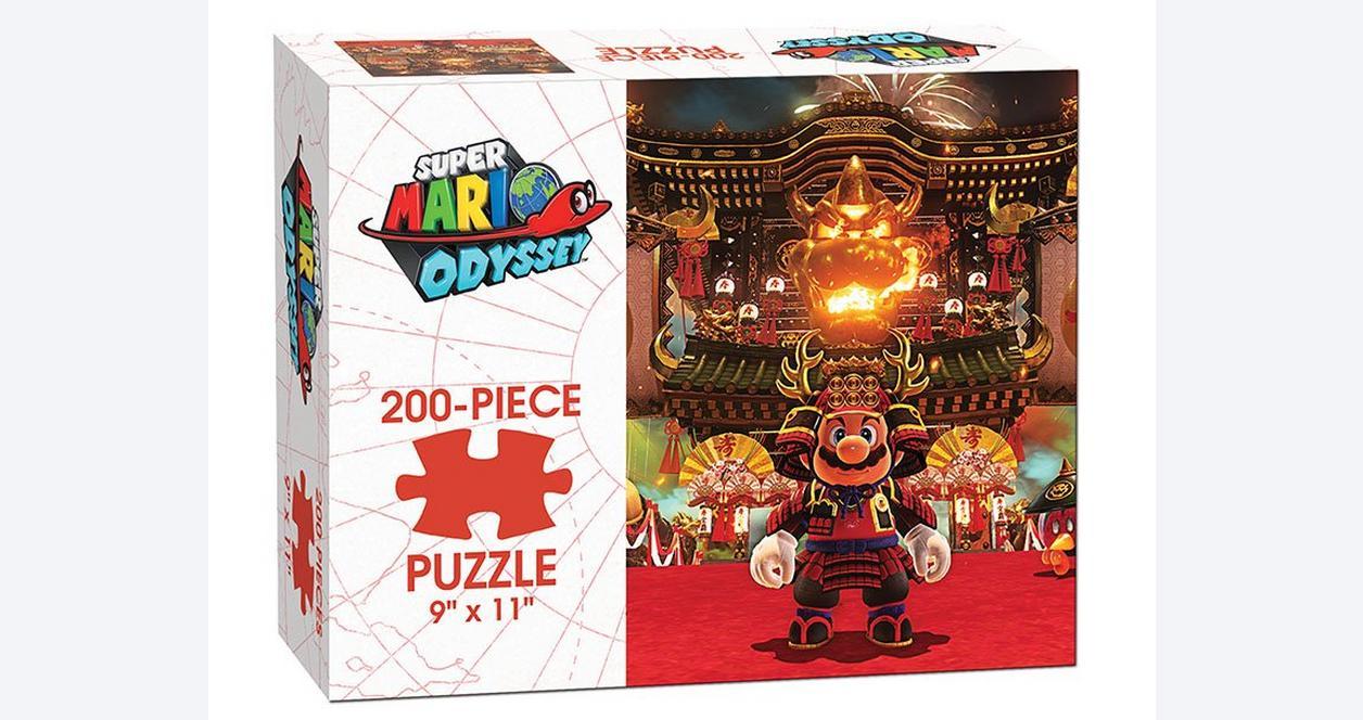Super Mario Odyssey Bowser Kingdom Puzzle
