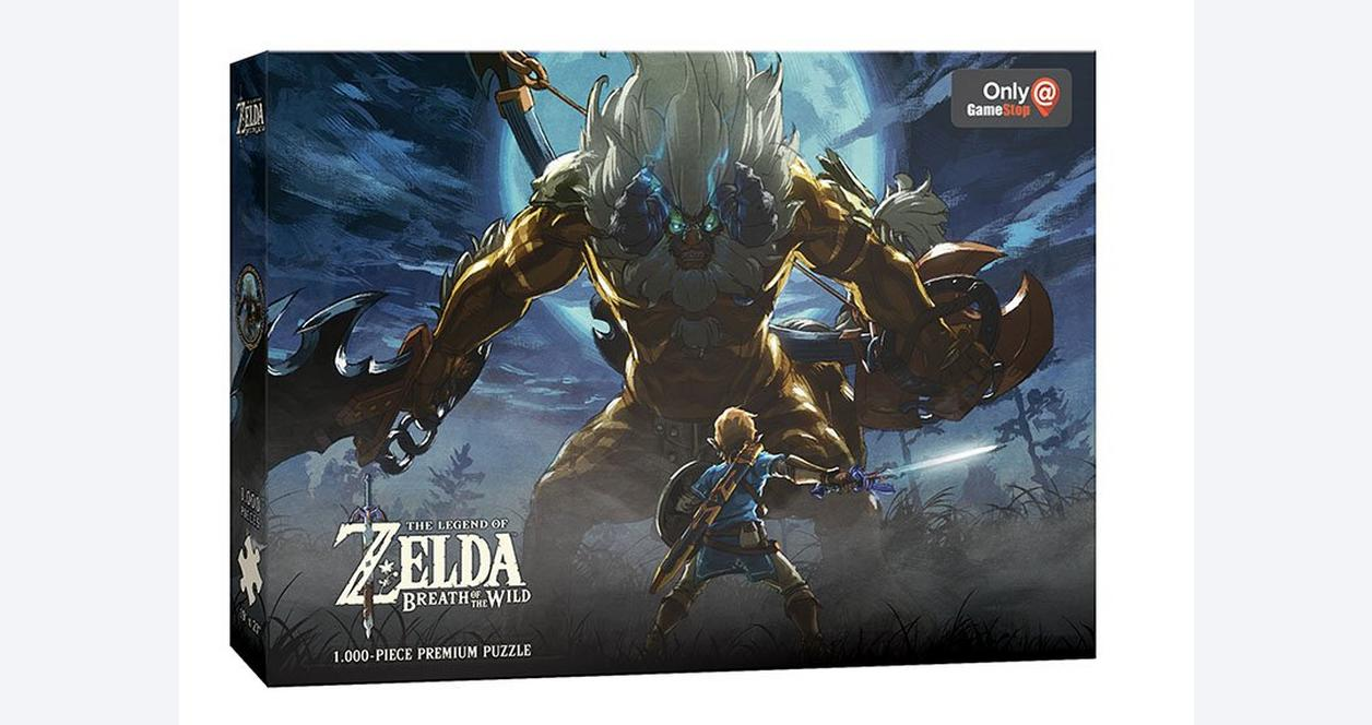 The Legend of Zelda: Breath of the Wild Lynel Face-Off 1000 Piece Puzzle - Only at GameStop
