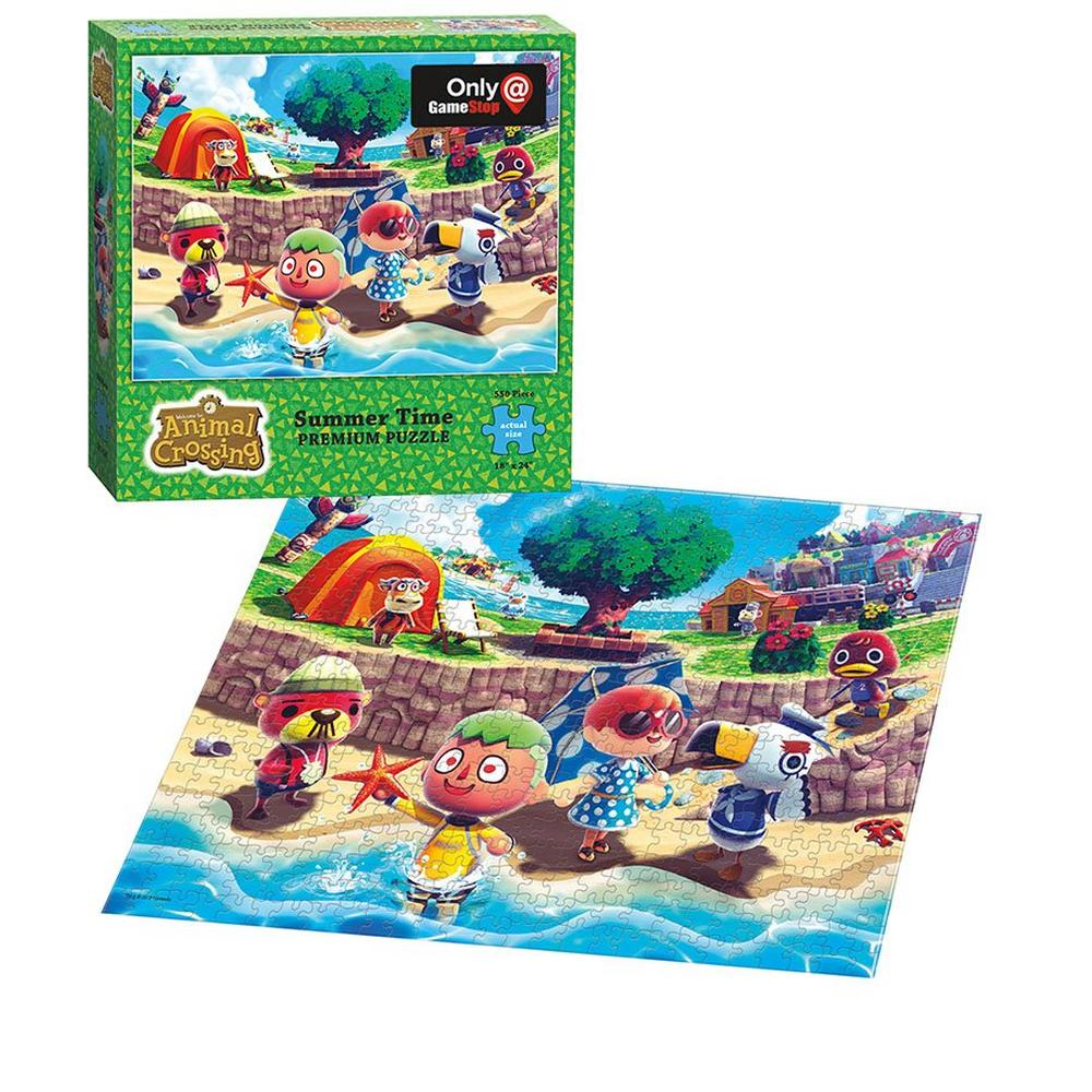 Animal Crossing: Summer Time 550 Piece Puzzle - Only at GameStop | GameStop