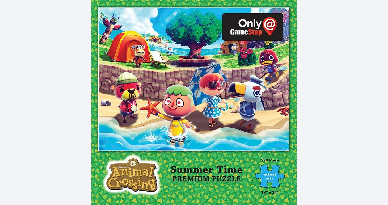 Animal Crossing Summer Time Puzzle Only at GameStop