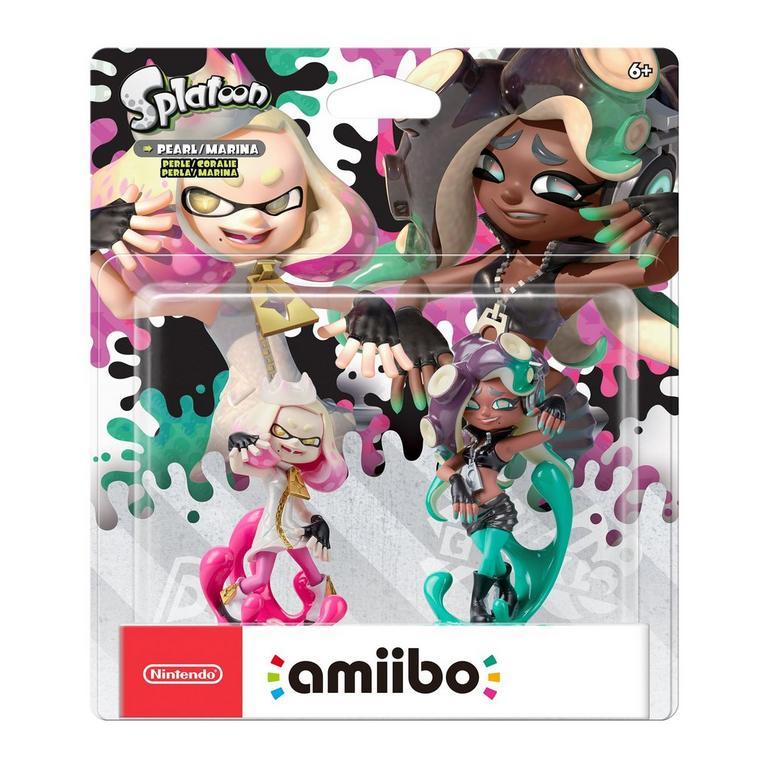 Splatoon 2 Pearl & Marina amiibo 2 Pack