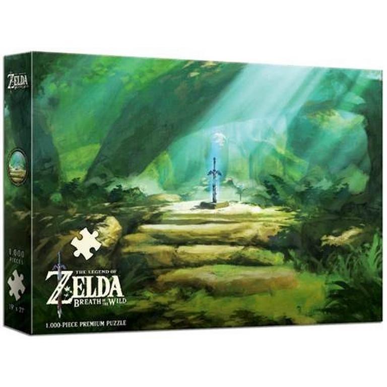 The Legend Of Zelda Breath Of The Wild The Master Sword Puzzle Gamestop