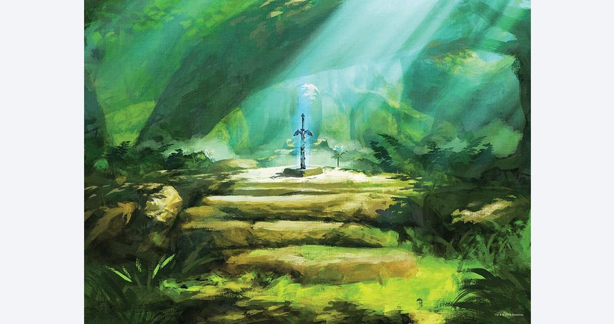 The Legend of Zelda: Breath of the Wild The Master Sword Puzzle