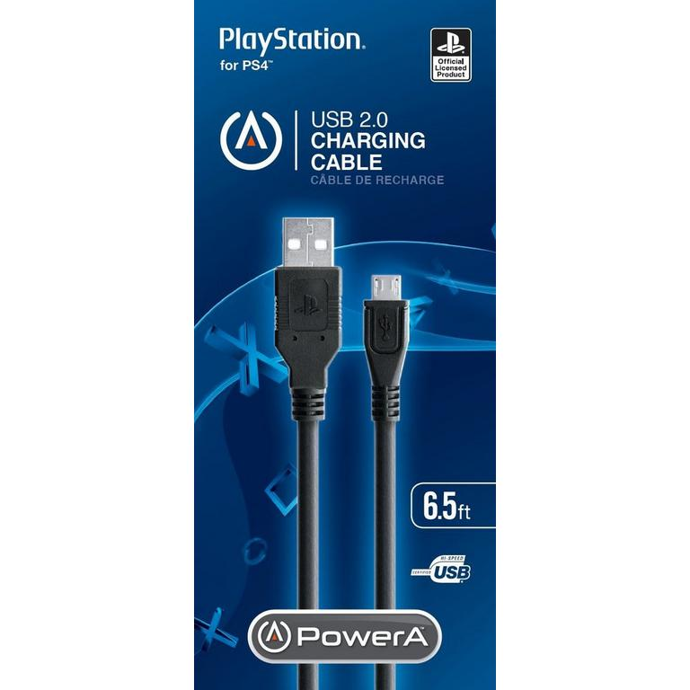 BD & A PlayStation 4 USB 2.0 Charging Cable PS4 Available At GameStop Now!