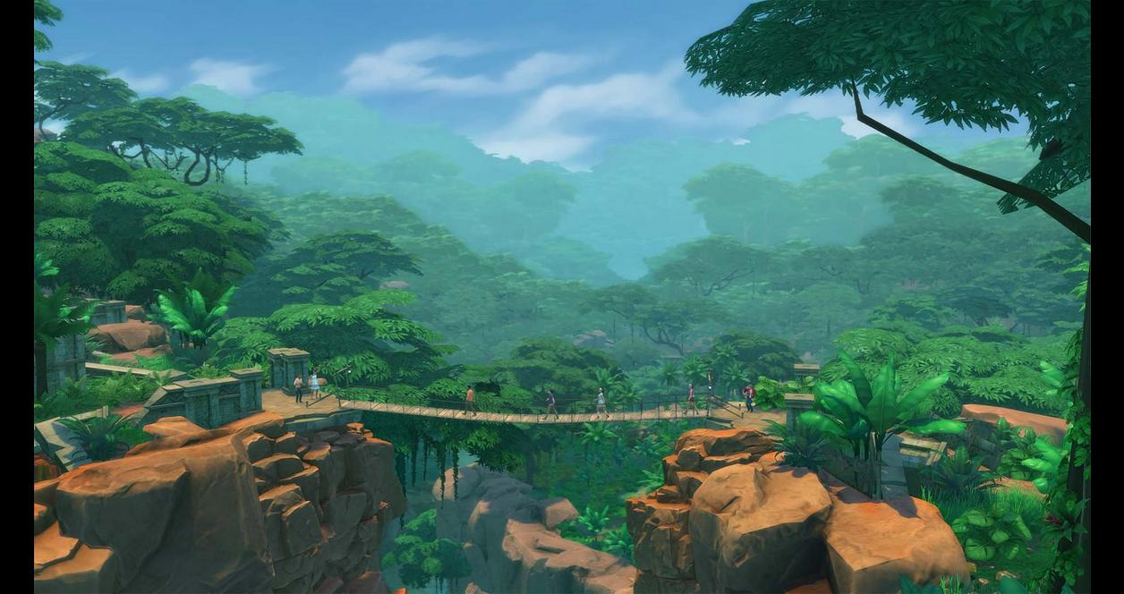 The Sims 4: Jungle Adventure Pack