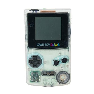 Game Boy Color System - Clear Ice (GameStop Premium Refurbished)