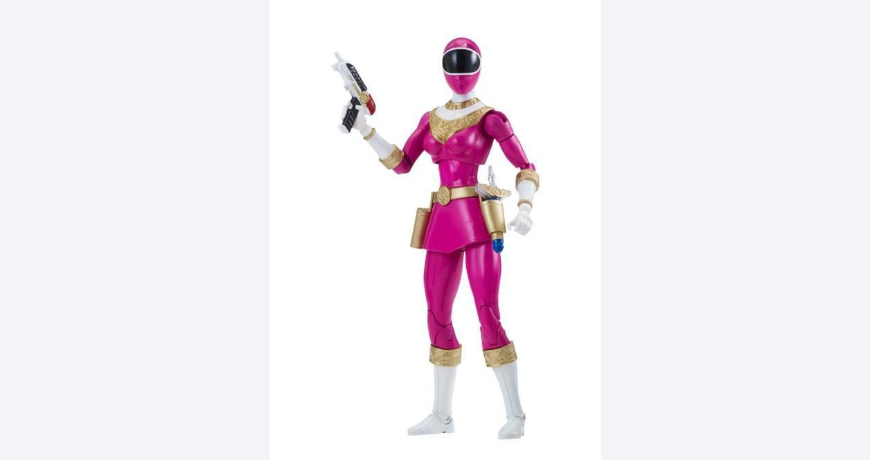 Power Rangers Legacy: Zeo 6.5 Inch Action Figure Pink Ranger