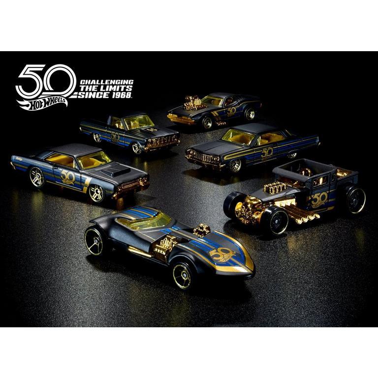 Hot Wheels 50th Gold Anniversary Vehicle (Assortment)