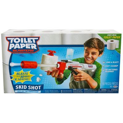 Toilet Paper Blaster - Skid Shot
