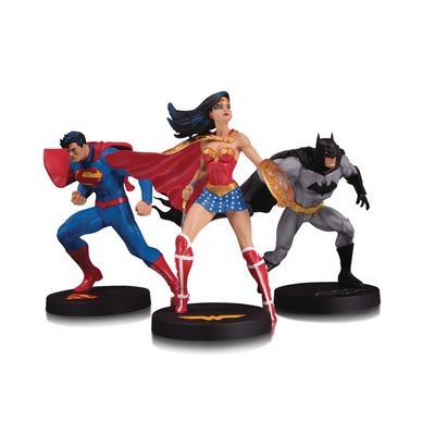 DC Designer Series: DC Trinity Collector 3-Pack Statue Set (Superman, Batman And Wonder Woman)