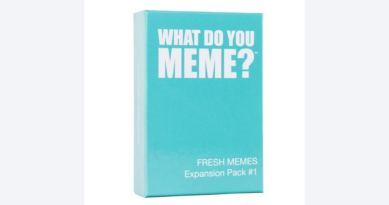 What Do You Meme? Fresh Expansion Card Game