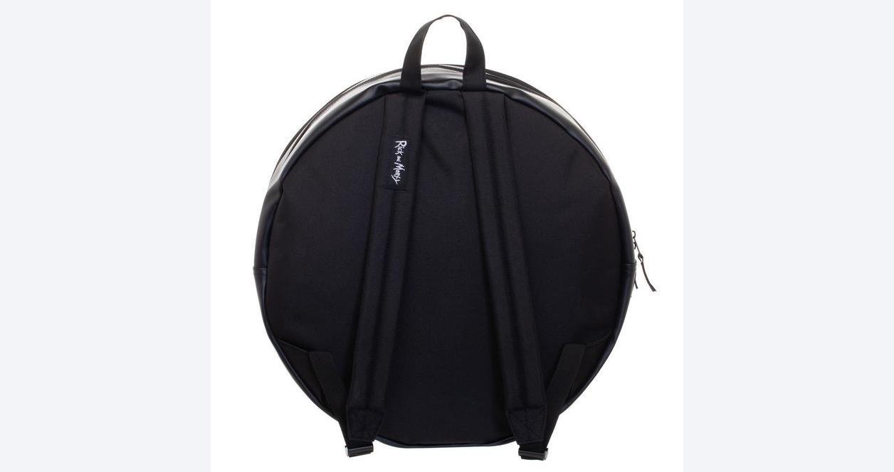 Rick and Morty Portal Circular Backpack