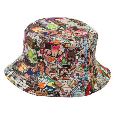 Rick And Morty Portal Bucket Hat