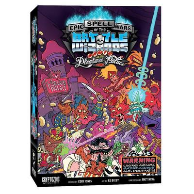 Epic Spell Wars of the Battle Wizards: Panic at the Pleasure Palace Card Game
