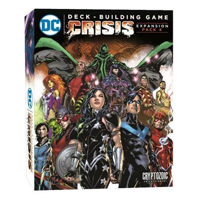 DC Deck Building Game: Crisis Expansion Pack 4