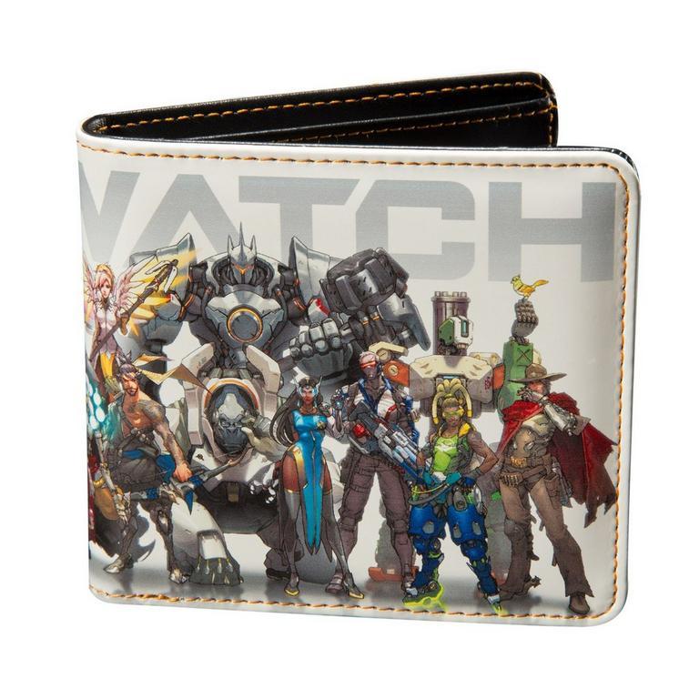 Overwatch Hero Lineup Bifold Wallet