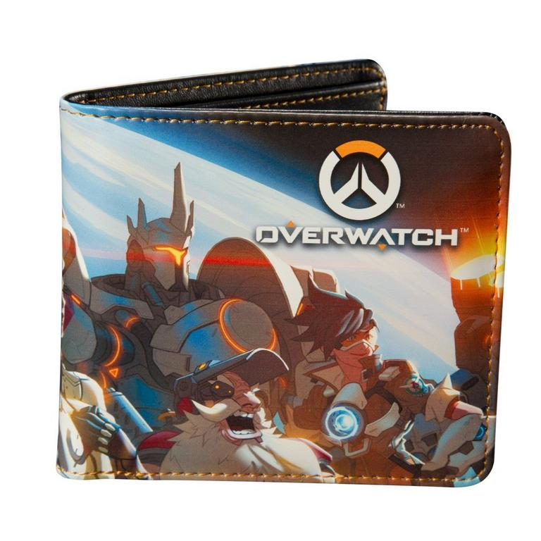 Overwatch Planet View Bifold Wallet