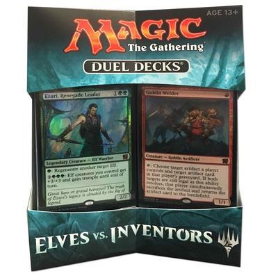 Magic the Gathering Elves vs Inventors Duel Decks