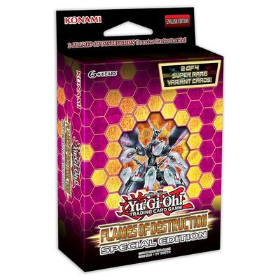 Yu-Gi-Oh! Flames of Destruction Special Edition Booster 3 Pack