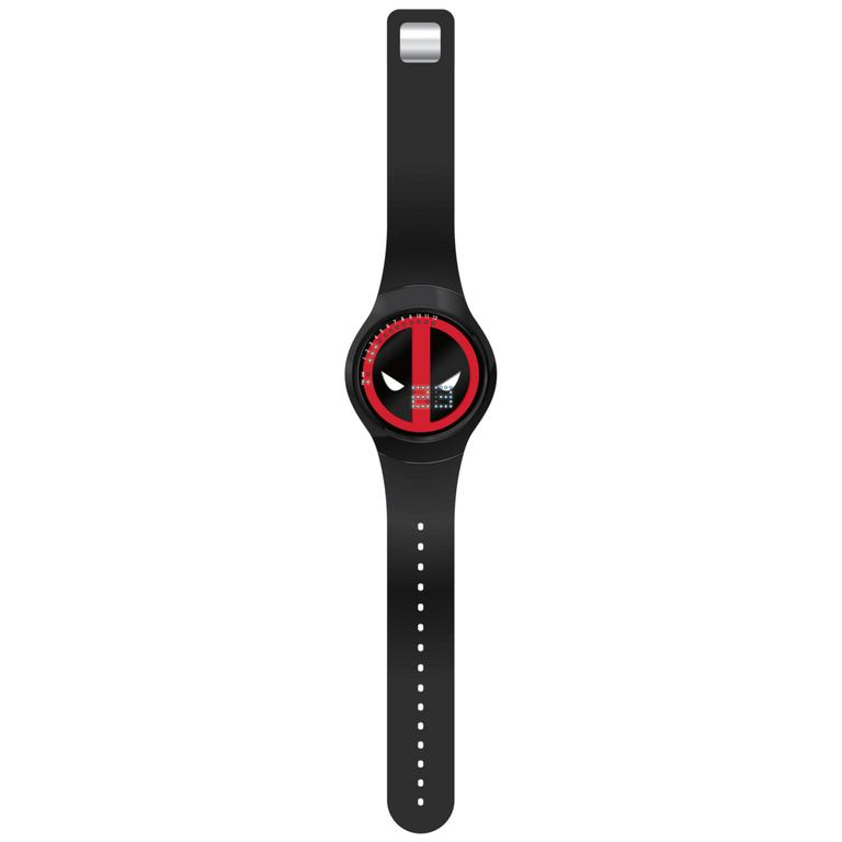 Deadpool 8-Bit LED Watch