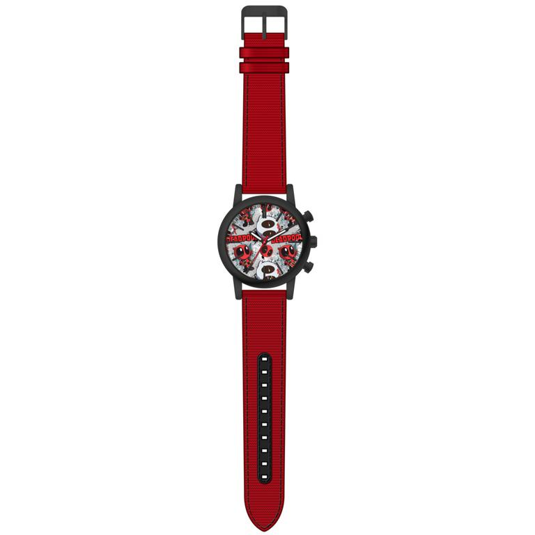 Deadpool Red Strap Wristwatch