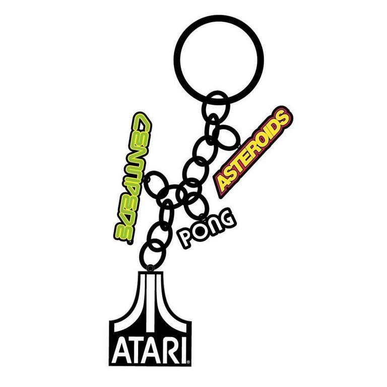 Atari Games Keychain