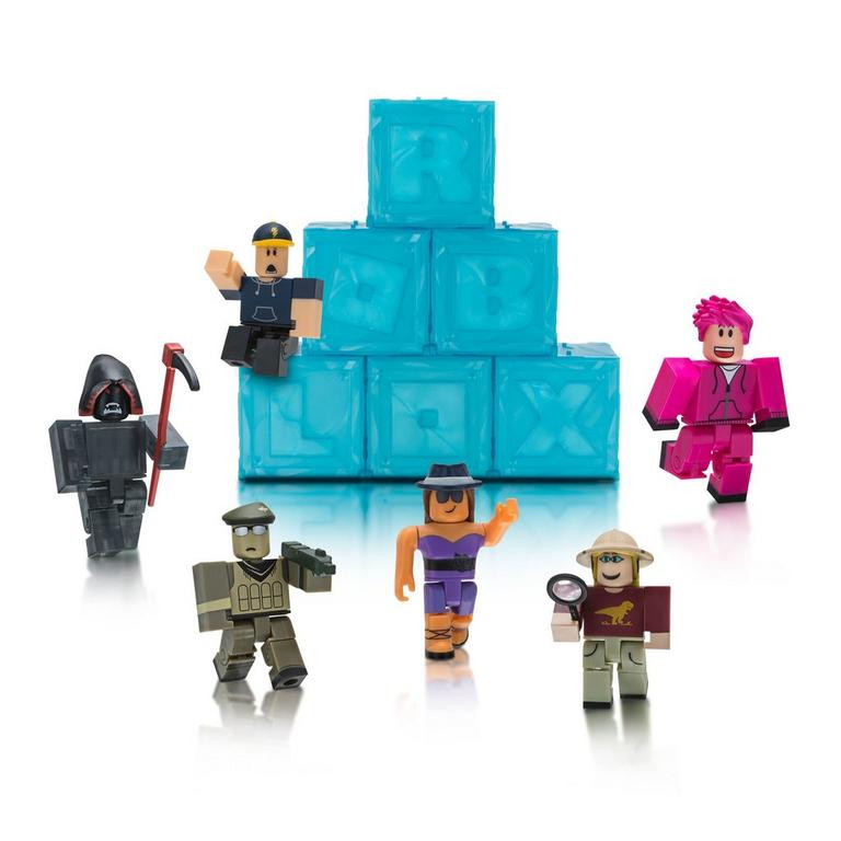 Roblox Mystery Figures Series 3 Gamestop - pictures of roblox characters with grid