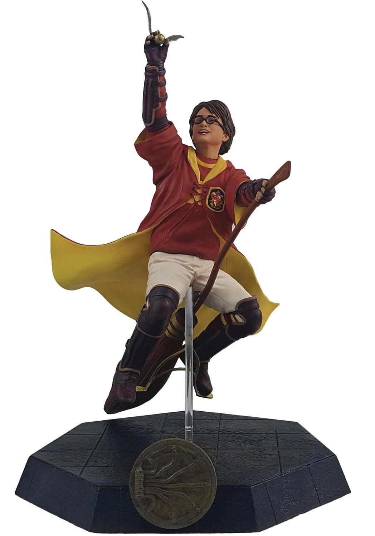 Harry Potter Harry In Quidditch Robes Statue Gamestop
