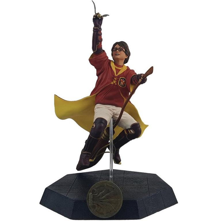 Harry Potter Harry in Quidditch Robes Statue