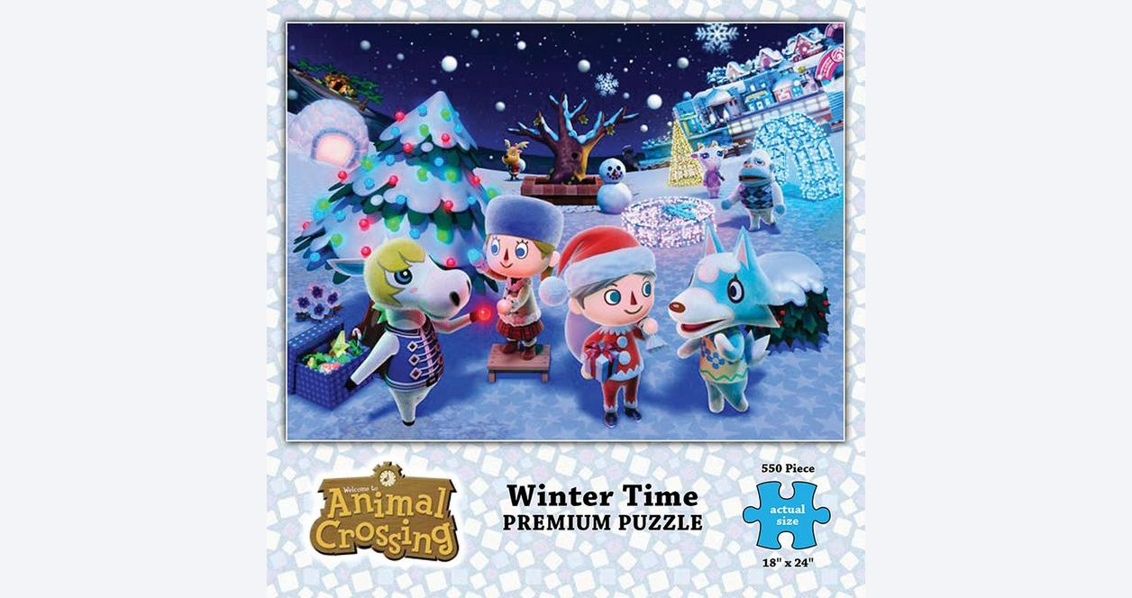 Animal Crossing Winter 550pc Puzzle - Only at Gamestop