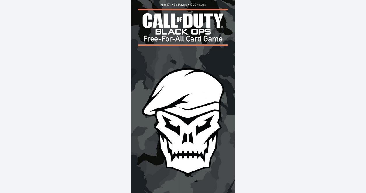Call of Duty: Free-for-All Card Game - Only at GameStop