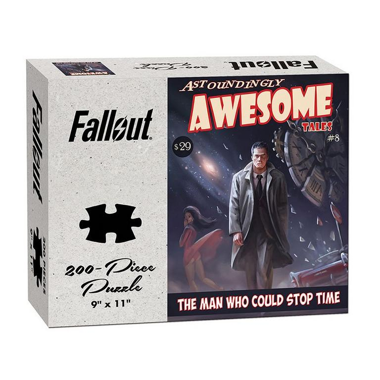 Fallout Astoundingly Awesome Tales The Man Who Could Stop Time Puzzle