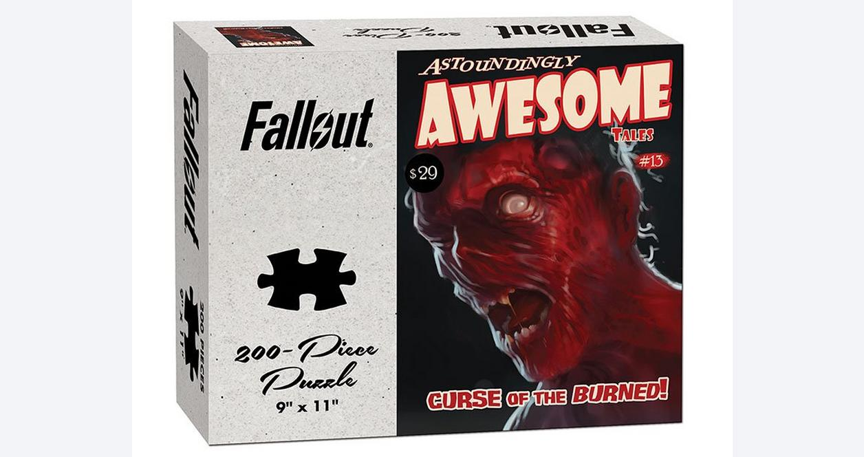 Fallout Astoundingly Awesome Tales Curse of the Burned Puzzle