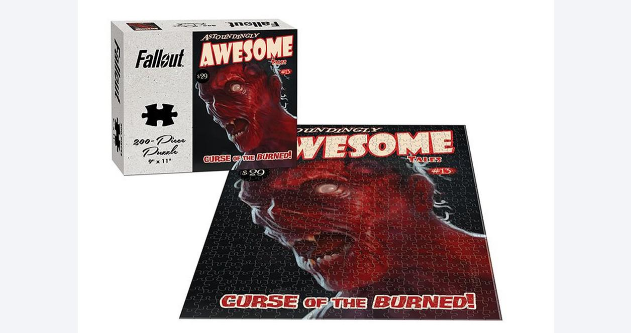 Fallout Awesome Tales Curse of the Burned 200 Piece Puzzle