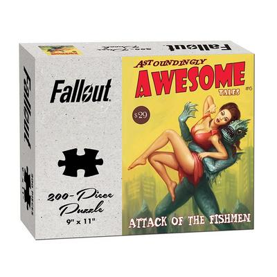 Fallout Astoundingly Awesome Tales Attack of the Fishmen Puzzle