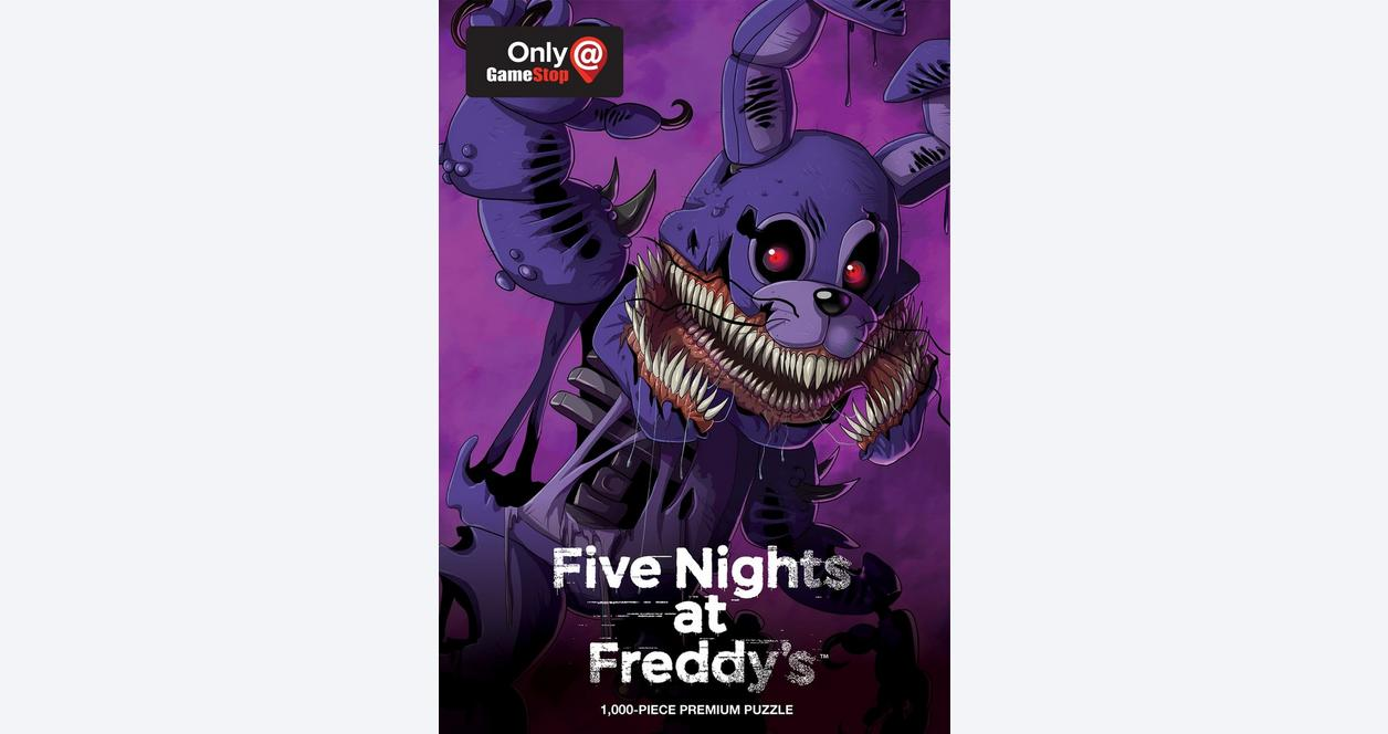 Five Nights at Freddy's Twisted Bonnie 1000 piece Premium Puzzle - Only at GameStop